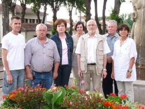 De gauche à droite : C. Bournat, B. Bory, A. Rozière, C. Morand, A. Cosson, A. Hautier et MF. Marmy